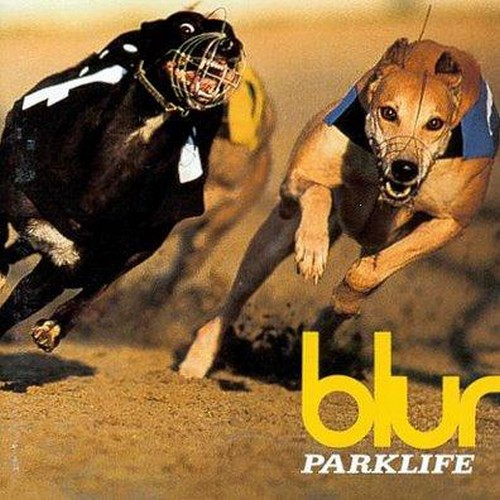 Jeux: bouts de pochette Blur-parklife