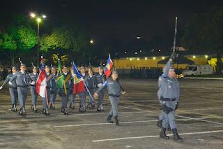 Polícia Militar forma aspirantes a oficiais