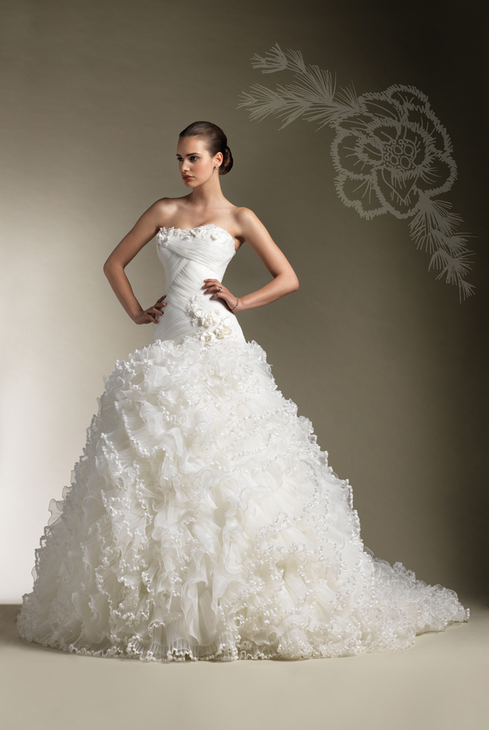 She fashion club sexy wedding dresses for Sexy wedding dress images