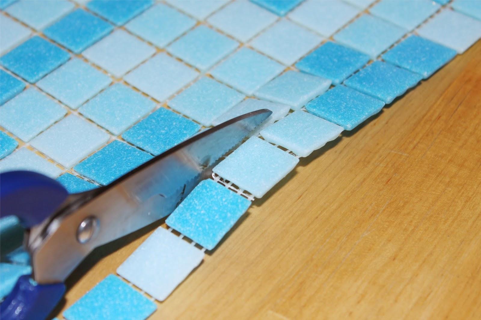 DIY Mosaik Waschtisch