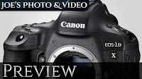 Canon EOS 1D-X mark II Digital SLR Camera | Preview
