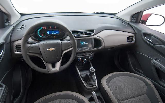 Chevrolet Prisma LTZ - Interior