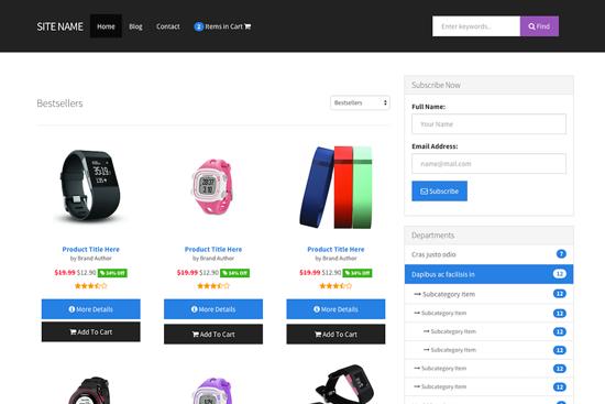Contoh Kedai Online Menggunakan Affiliate Amazon