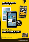 Categories: android, desconto, fnac, samsung, tablet