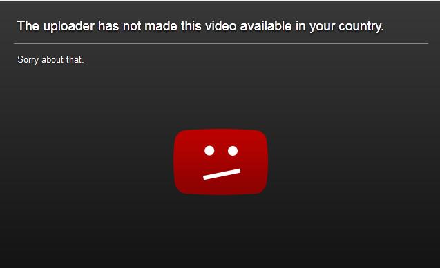 Cara Mengatasi Video Youtube Yang Diblokir Untuk Negara Anda