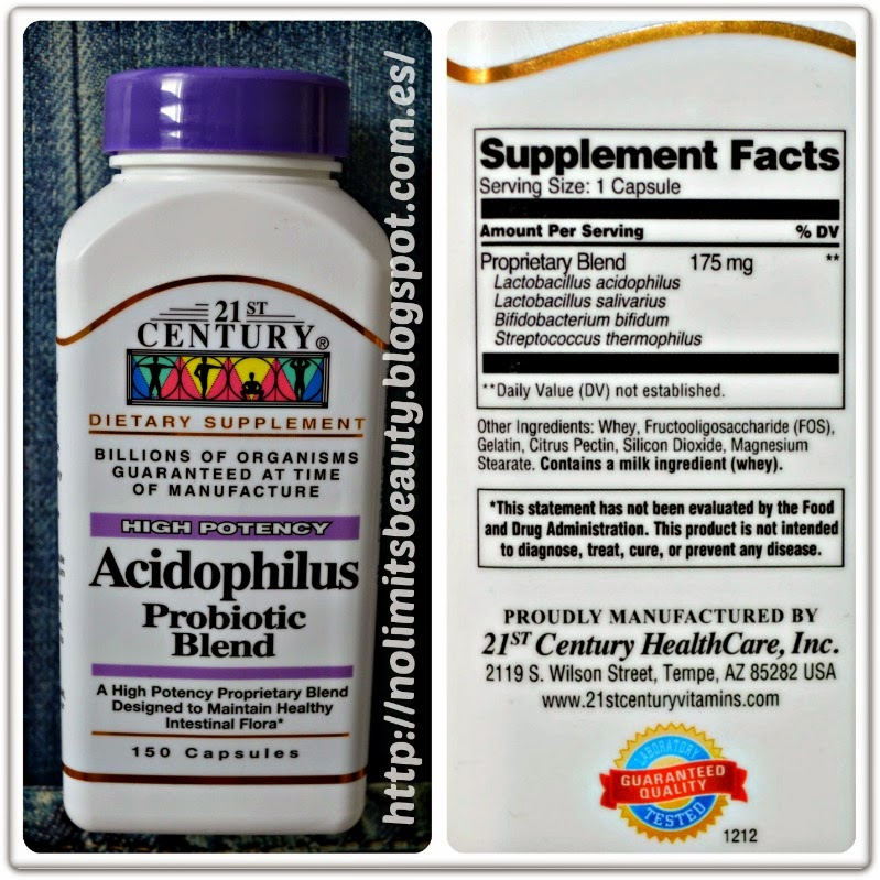 21st Century Health Care, Acidophilus, Probiotic Blend