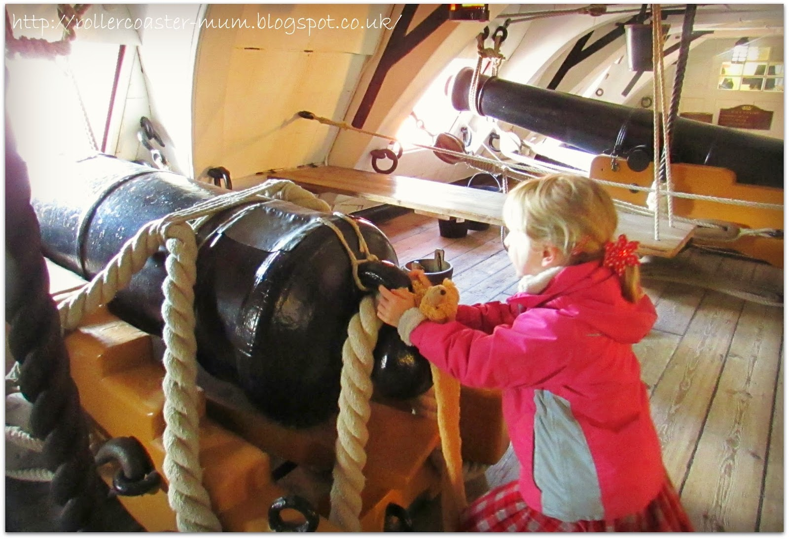 firing a cannon! HMS Victory, Portsmouth