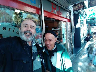 Luis & Chino para Amarneciendo