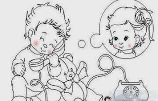 Küçük Çocuk Aşıklar