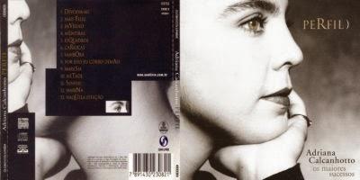 Adriana Calcanhotto Perfil Os Maiores Sucessos CD 2014