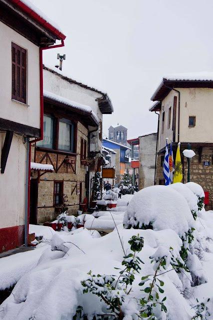 Το Βαρόσι χιονισμένο