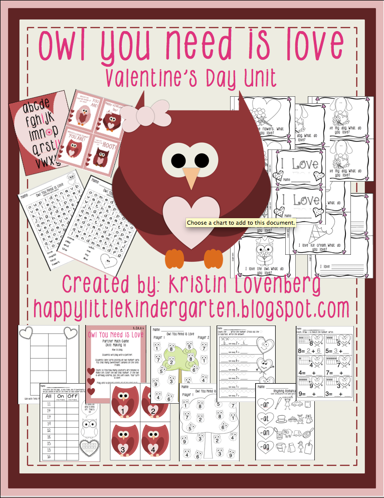 http://www.teacherspayteachers.com/Product/Owl-Themed-Valentines-Day-Bundle-1066960