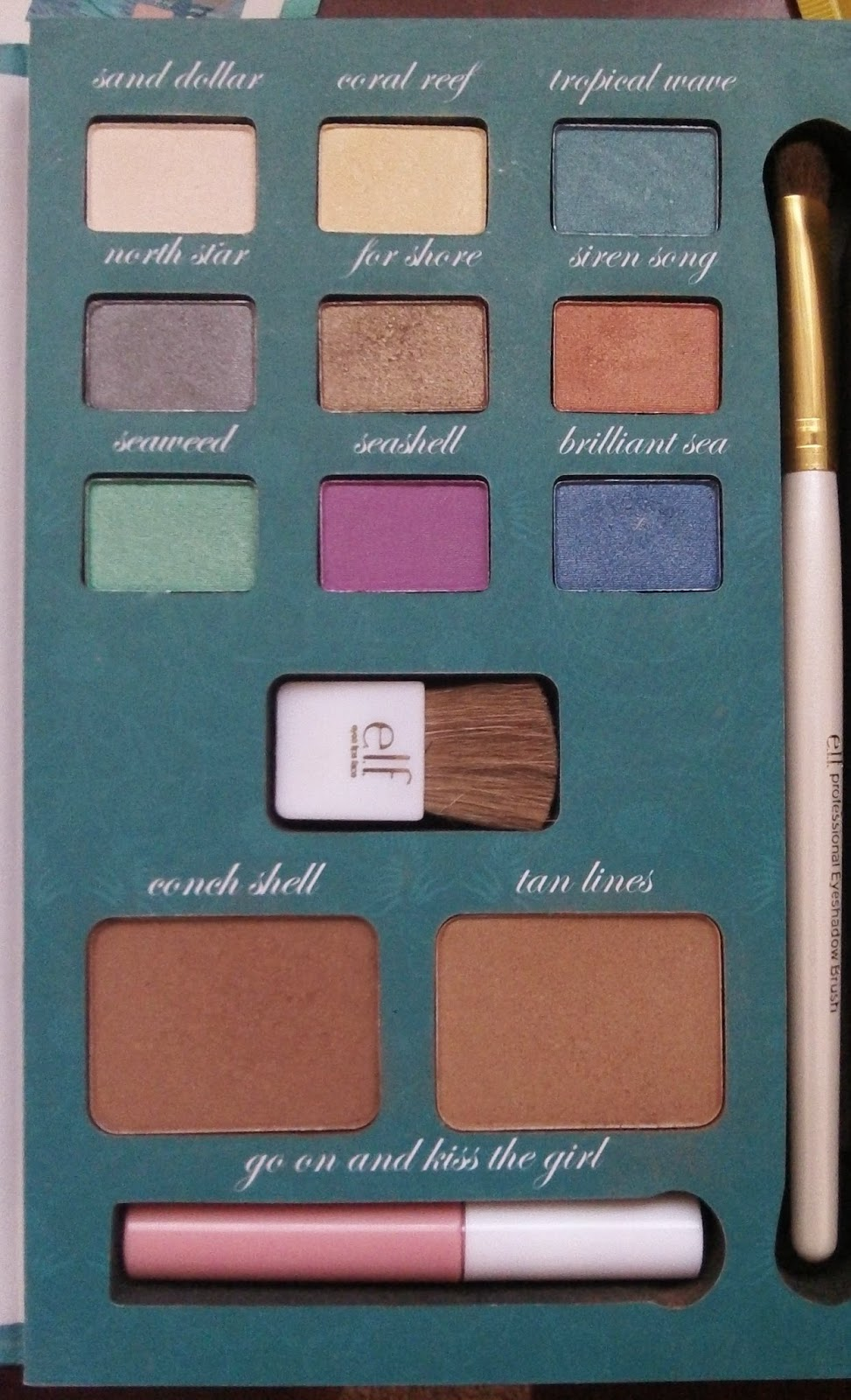 Whats in the elf Ariel palette