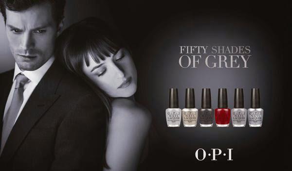 Opi 50 Sombras de Grey colección esmaltes de uñas