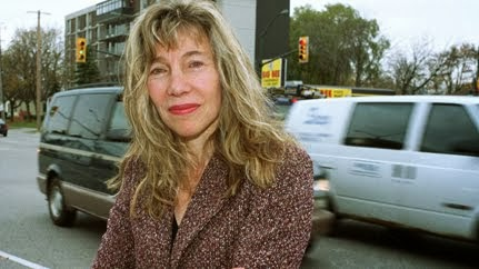 Linda McQuaig was on the street