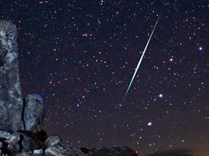 Chuva de meteoros visível no Hemisfério Sul