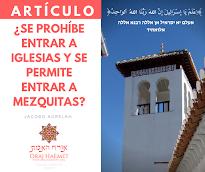¿Se prohíbe entrar a Iglesias y se permite entrar a Mezquitas?