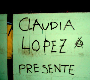 Sobre la compaera Claudia Lpez