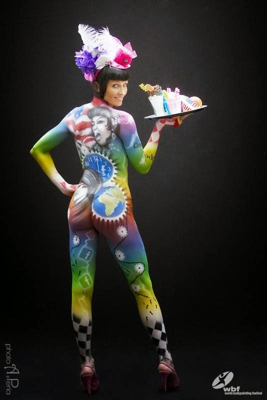Kumpulan Foto Body Painting 17