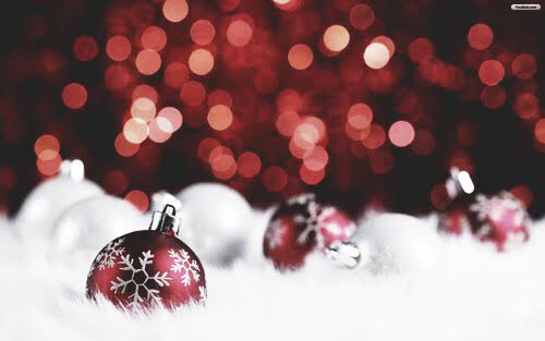 free christmas Download Red Decoration Christmas Wallpaper Free