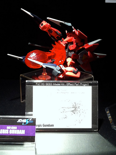 how to make gundam effect parts
