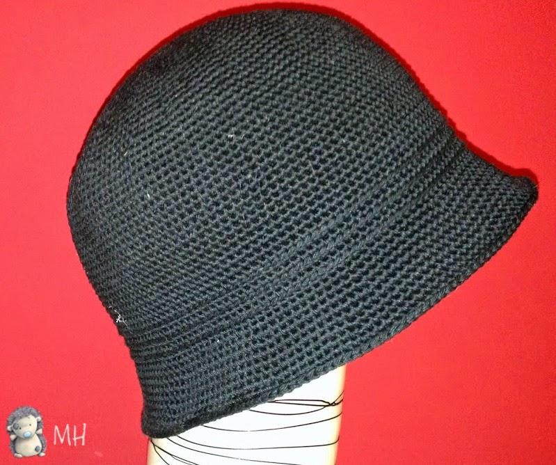 Atractivo Crochet Patrón De Sombrero De Cola Larga Elaboración ...