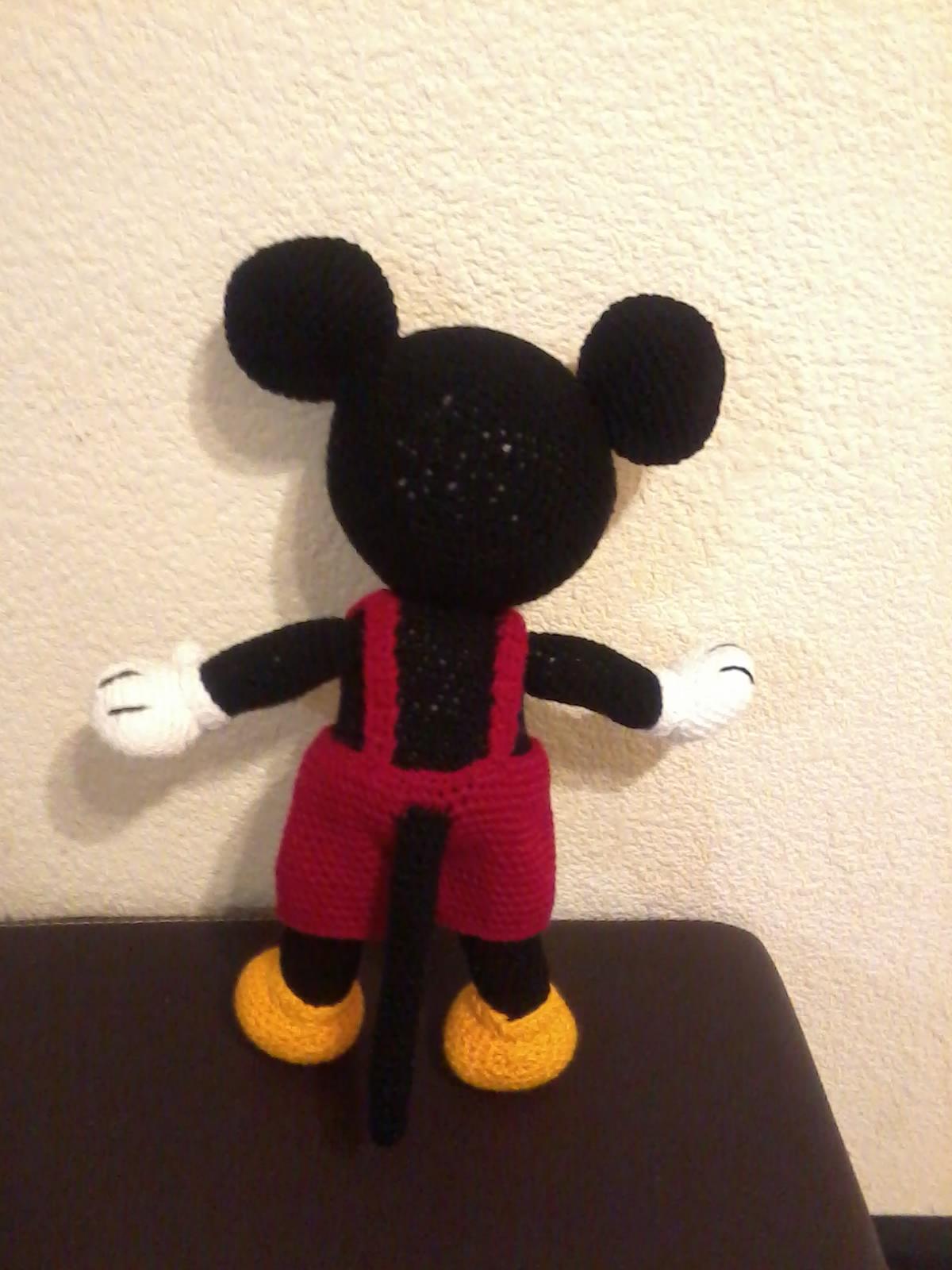 Patron Mickey Mouse Amigurumi Gratis : NOVEDADES JENPOALI: PATRON MICKEY MOUSE AMIGURUMI (2) (DISNEY)