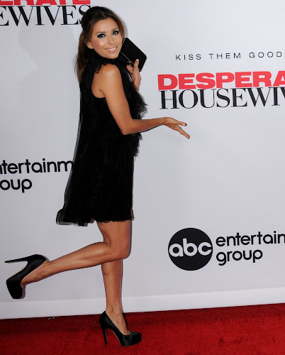 Eva Longoria, at the Desperate Housewives Final Season Party