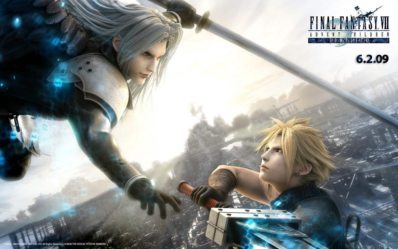 final fantasy hd wallpaper: final fantasy vii advent children complete