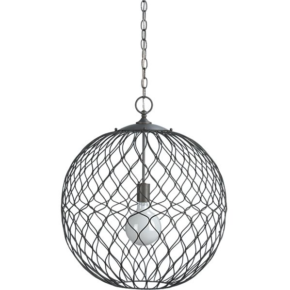 CRATE AND BARREL HOYNE PENDANT LAMP