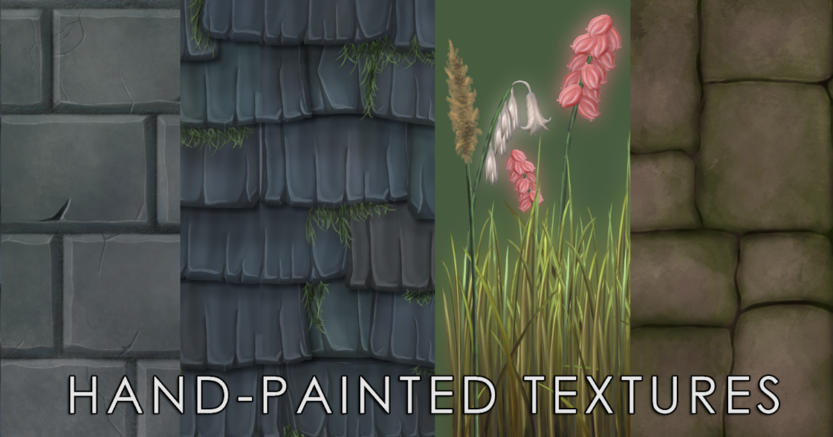 ANNGELICA PARENT : Hand-Painted Textures