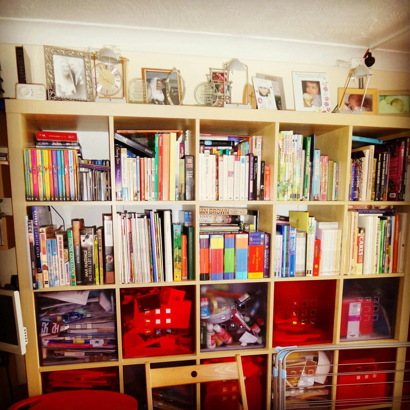 One of PippaD's Bookshelves