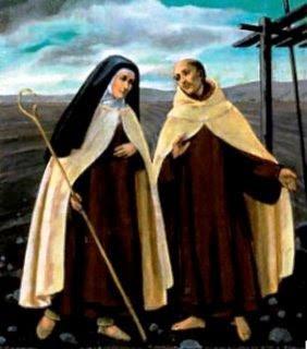 SANTA TEREZA DE ÁVILA ( DEJESUS) E SAO JOAO DA CRUZ