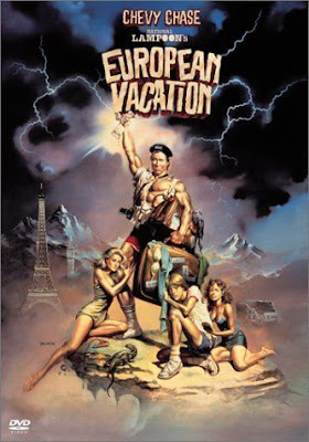 Boris Vallejo Artwork for National Lampoon's European Vacation Movie Starring Actor Chevy Chase