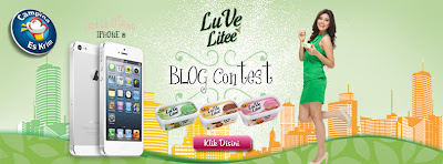 Blog contest Luv your life with Luve Litee