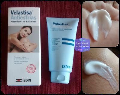 Crema antiestrías Velastisa de ISDIN