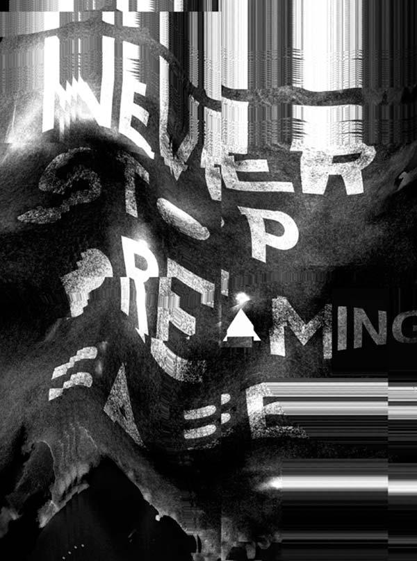 Ilustración, Never STOP DREAMING de Gustav Rendon