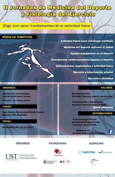 Primera Jornada de Medicina del Deporte UST