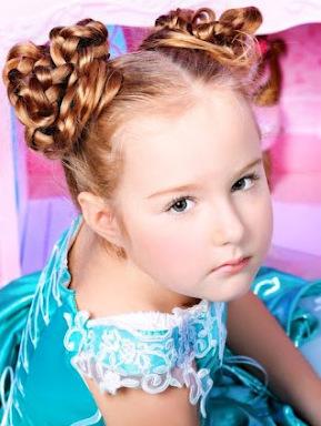 peinados infantiles nenas look 2013