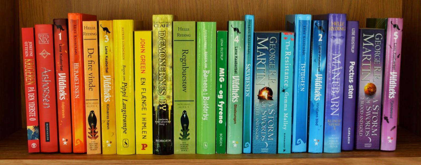 twilight bøger rækkefølge dansk