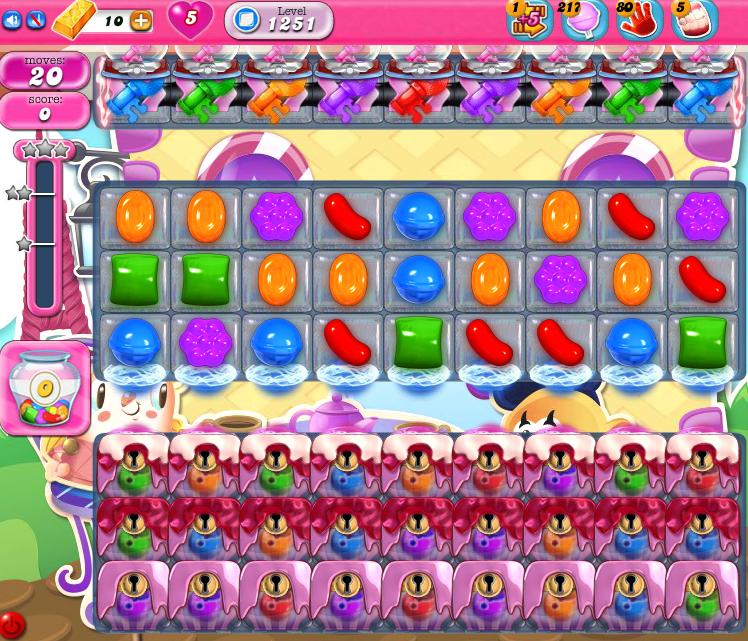 Candy Crush Saga 1251