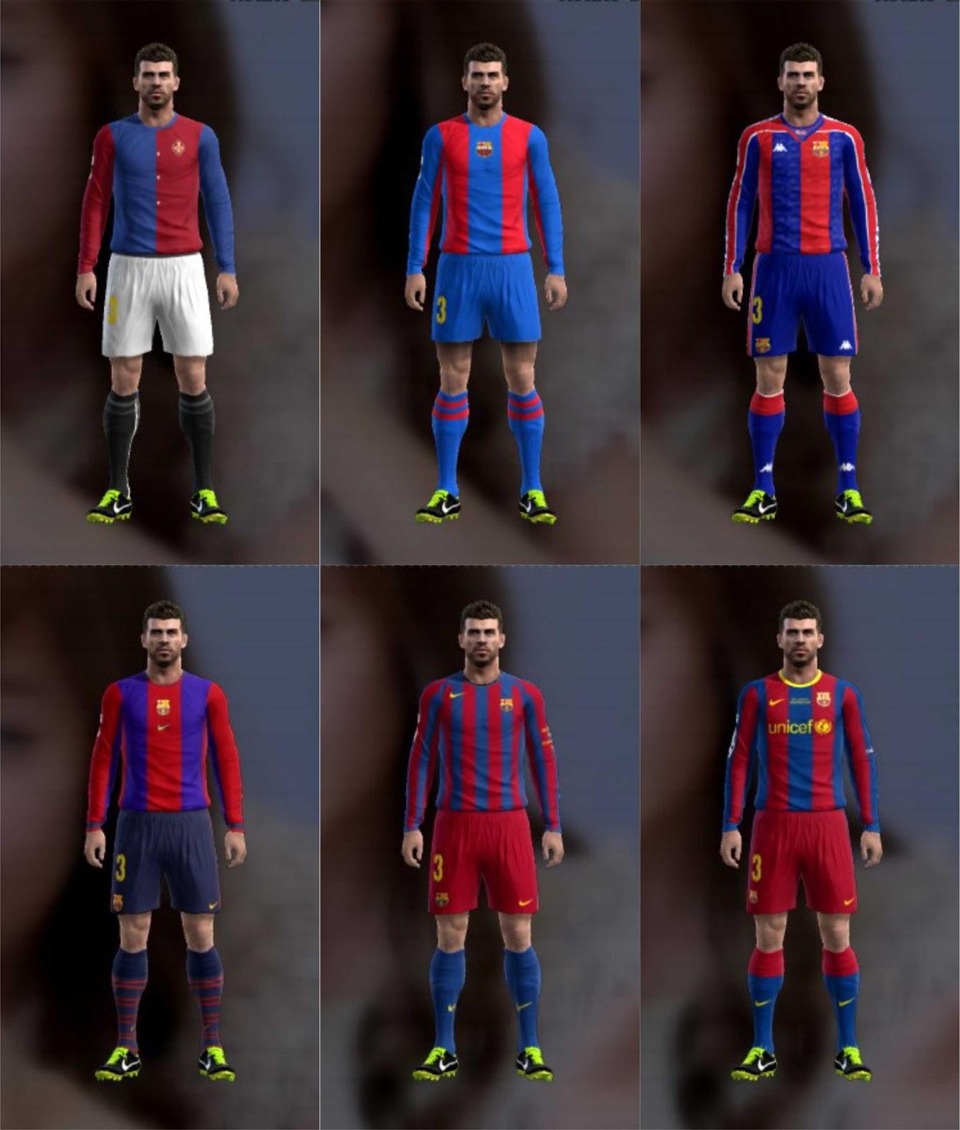 History Kits Barcelona 1899