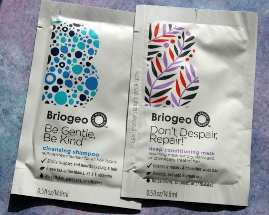 Briogeo Cleansing Shampoo and Deep Conditioning Mask