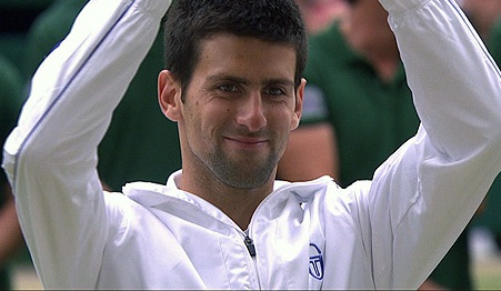 Novak Djokovic number-one tennis player of the world
