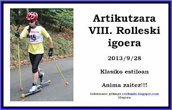Artikutza 2013 clasif.