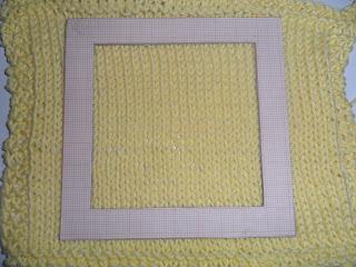 DIY template for measuring Knitting Gauge