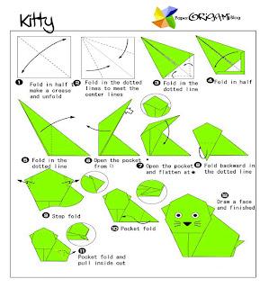 Kitten Origami