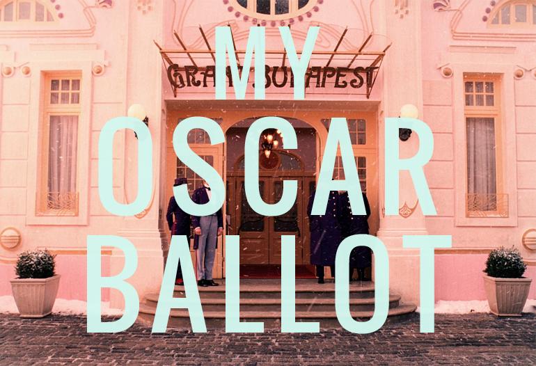oscar ballot 2015