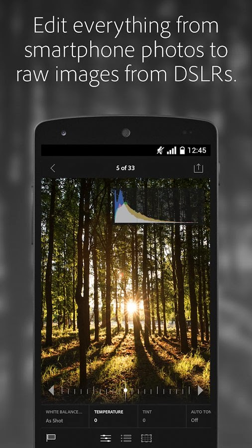 Adobe Lightroom mobile app lands on Android phones