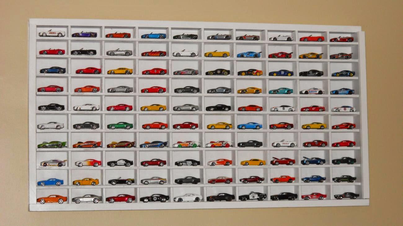 Hot Wheels Racing League: Nice Hot Wheels Display Shelf
